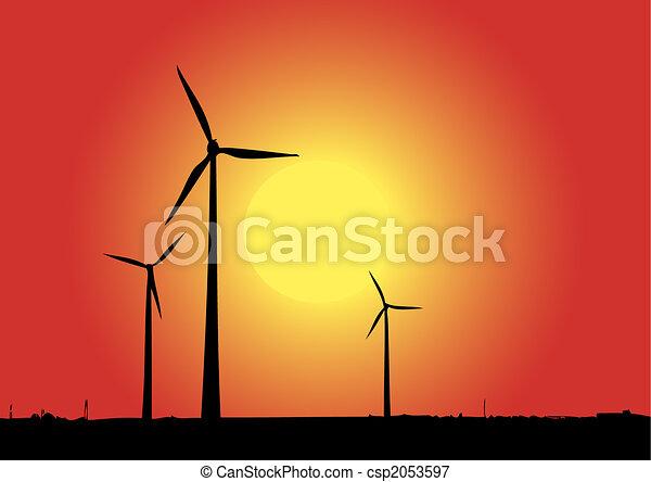 poder vento - csp2053597