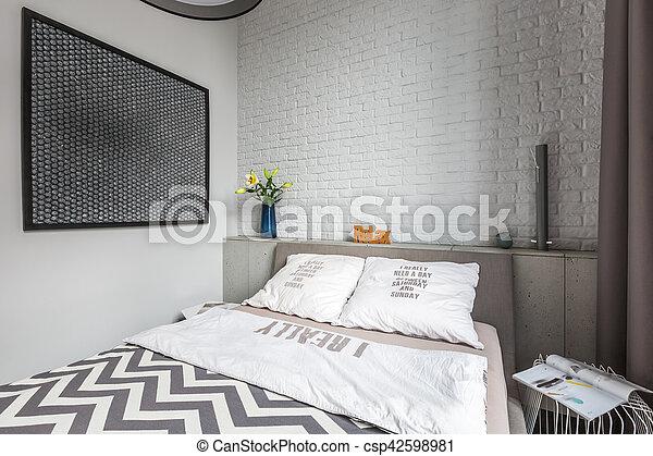 Podwójne łóżko Sypialnia
