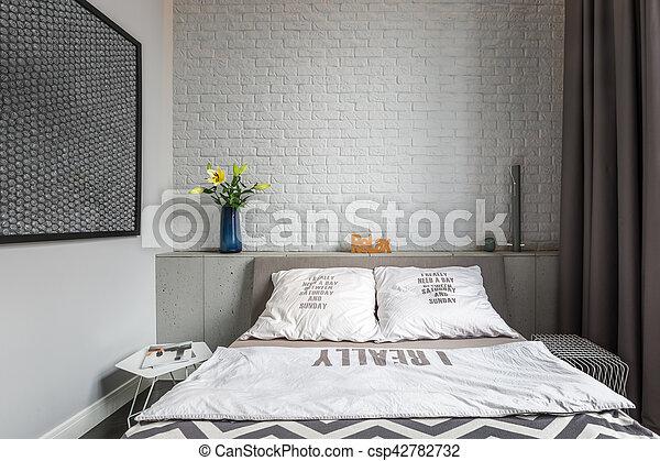 Podwójny Wygodny łóżko Sypialnia