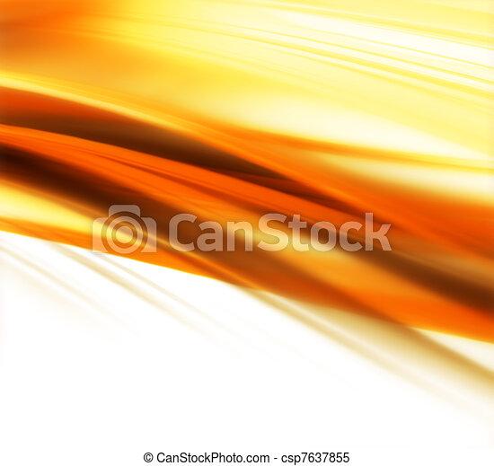 podzim, grafické pozadí - csp7637855
