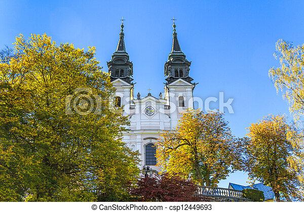 Poestlingberg Basilica, Linz, Austria - csp12449693