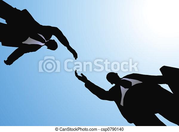 poignée main, business - csp0790140