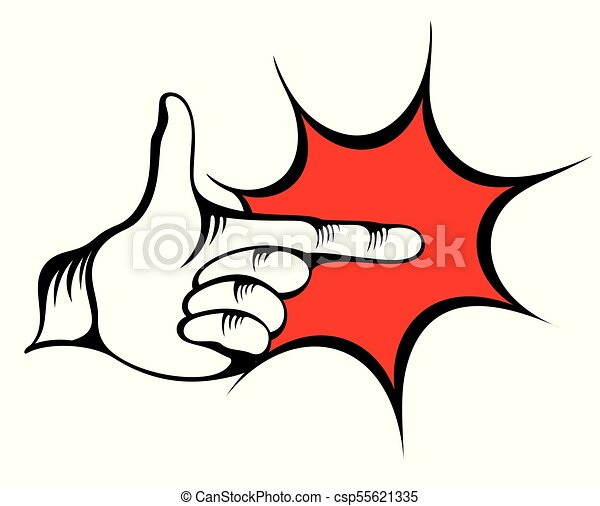 pointing hand vector of pointing finger vectors search clip art rh canstockphoto com pointing finger icon vector pointing finger vector free download