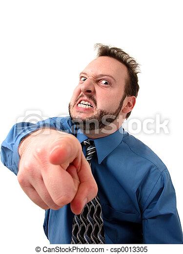 Pointing Man 1 - csp0013305