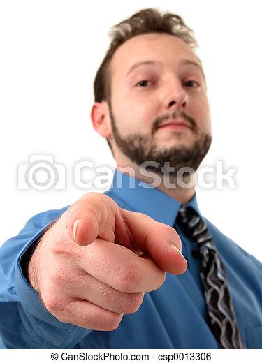 Pointing Man 2 - csp0013306