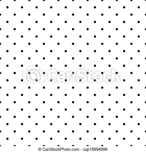 points, noir, blanc, polka, fond - csp18994998