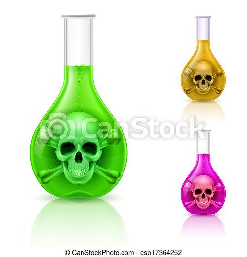 Viales con veneno. - csp17364252