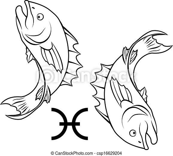 poissons zodiaque signe horoscope astrologie horoscope clipart vectoriel rechercher. Black Bedroom Furniture Sets. Home Design Ideas
