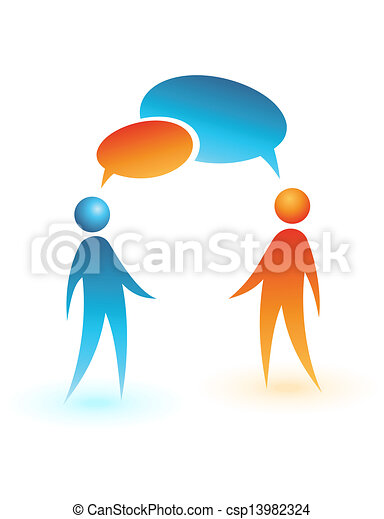 pojęcie, ludzie, media, wektor, towarzyski, icon. - csp13982324