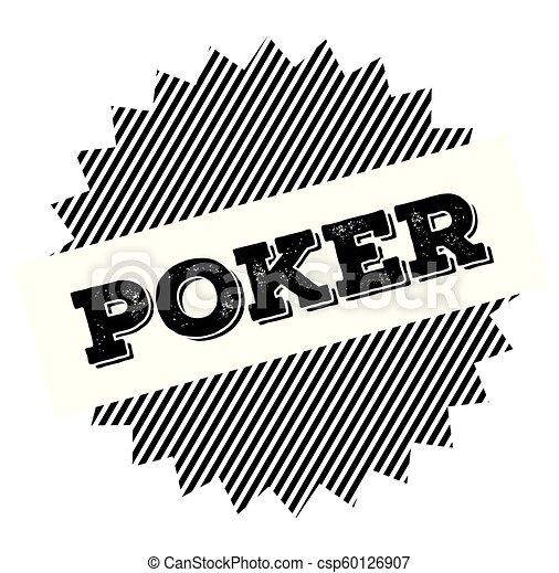 poker black stamp - csp60126907