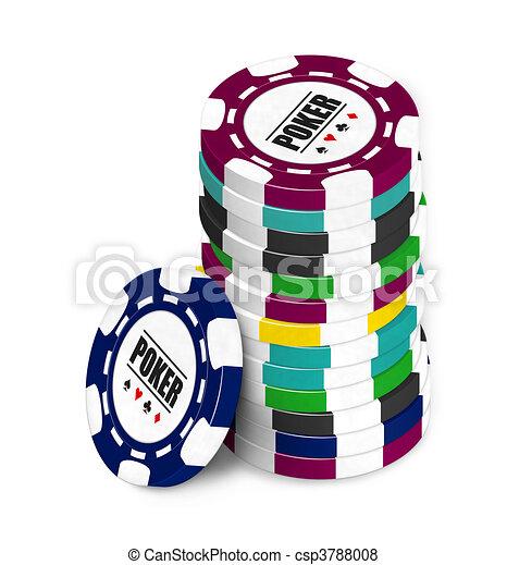 Poker Chip - csp3788008