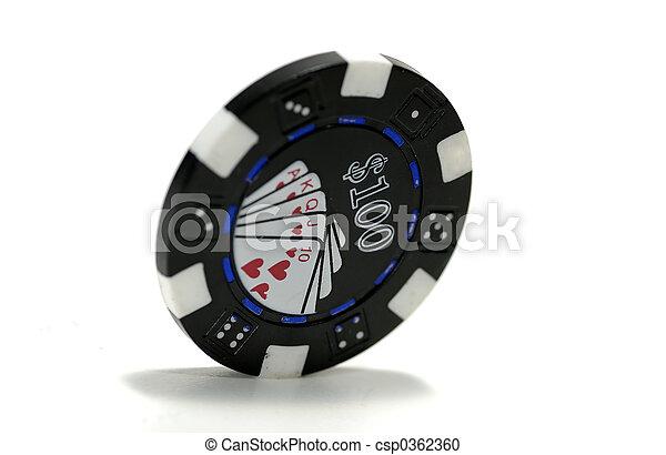 Poker Chip - csp0362360