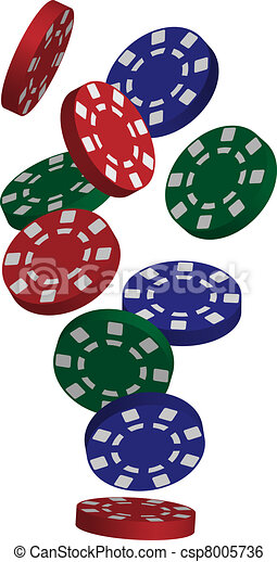 illustration of falling red  blue and green poker chips blue poker chip clipart poker chips clipart
