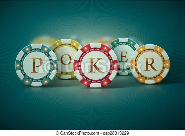 Poker Chips - csp28313229