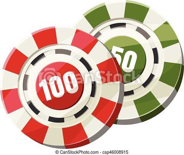 poker chips nominal one hundred and fifty icon cartoon vector rh canstockphoto com poker chips clipart black and white poker chips vector clipart