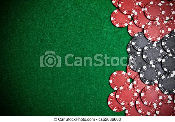 Poker chips - csp2036608