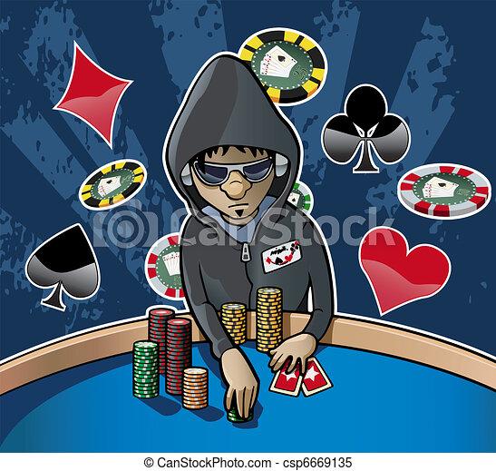 Poker face - csp6669135