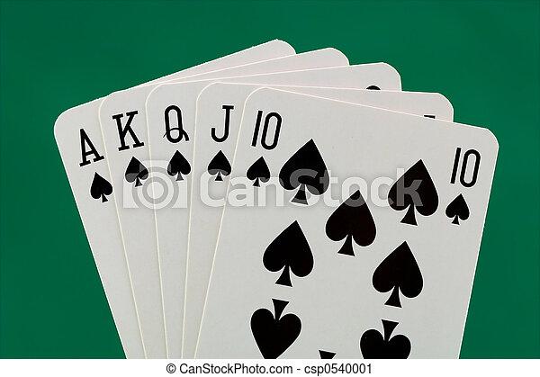 Poker hand - csp0540001