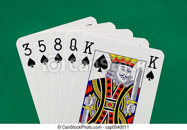 Poker hand - csp0540011