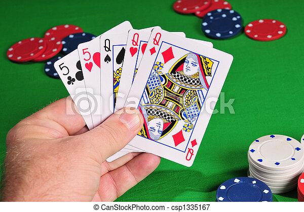 poker hand - csp1335167