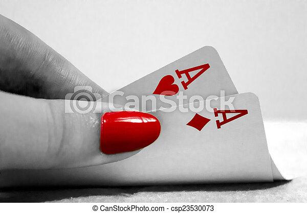 Poker Hand - csp23530073