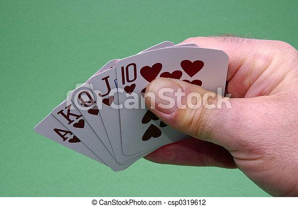 Poker Hand - csp0319612