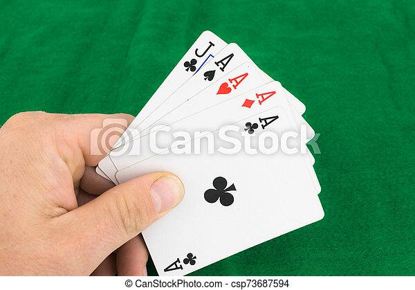 Poker Hand - csp73687594