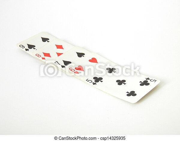 Poker hand - csp14325935