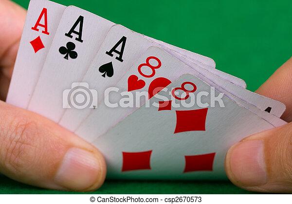 Poker hand - csp2670573