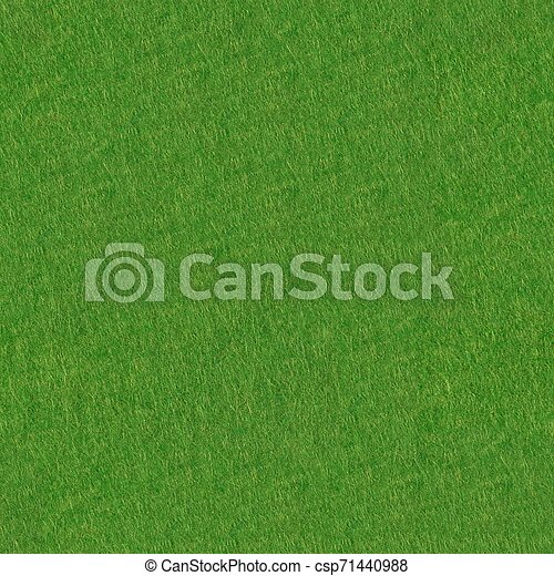 Poker table felt background in green color. Seamless square texture, tile ready. - csp71440988