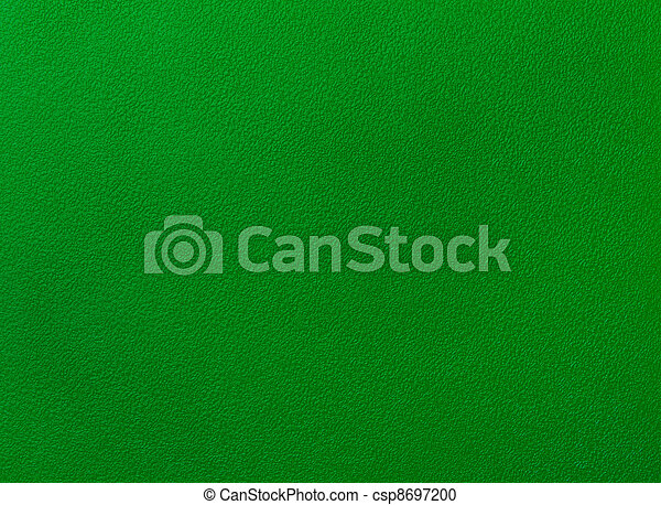 Poker table felt background in green color - csp8697200