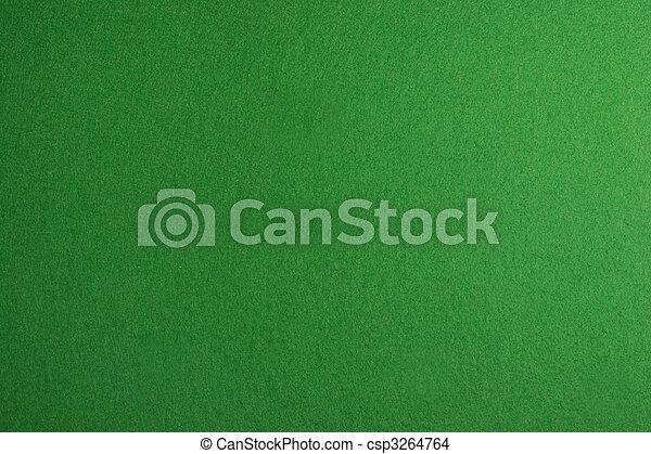 Wonderful Poker Table Felt Stock Photo