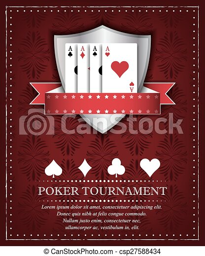 Poker tournament background - csp27588434
