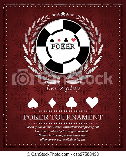 Poker tournament background - csp27588438