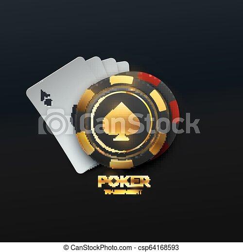 Poker tournament. - csp64168593