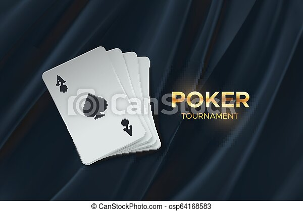 Poker tournament. - csp64168583