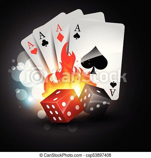poker tournament logo template - csp53897408