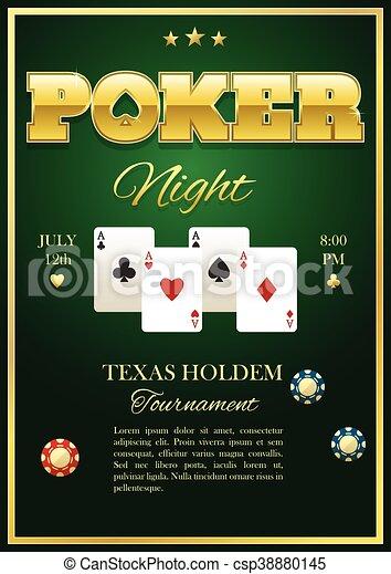 Poker Tournament Poster - csp38880145