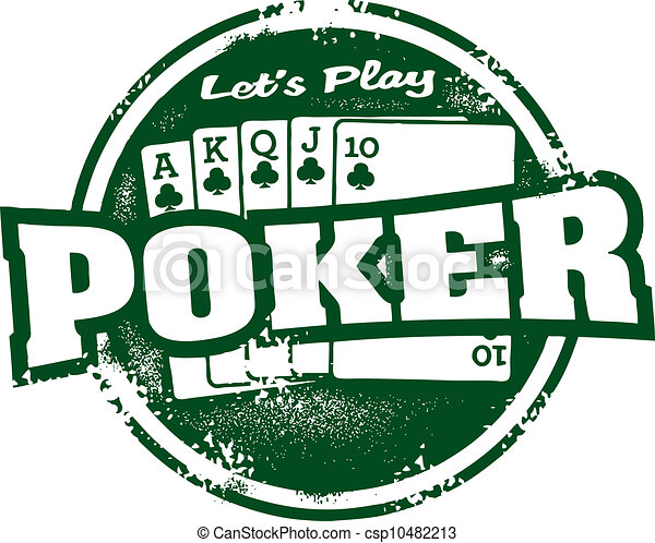 Poker Tournament Stamp - csp10482213