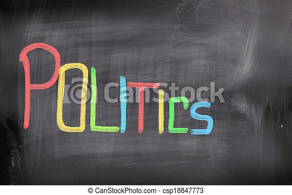 política, concepto - csp18847773
