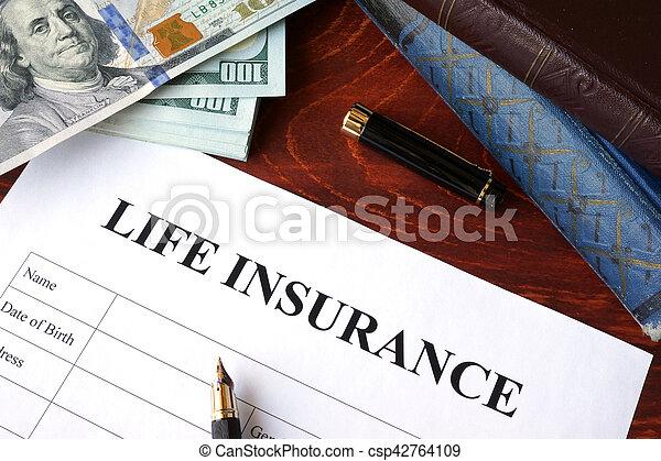 Política de seguro de vida - csp42764109