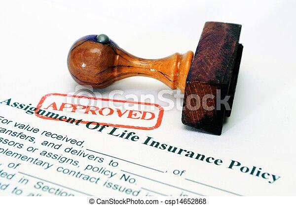 Política de seguro de vida - csp14652868