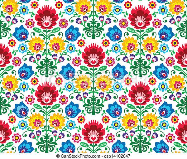 Esmalte floral sin sellar - csp14102047