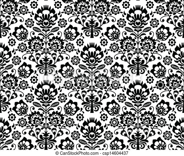 Esmalte floral sin sellar - csp14604437