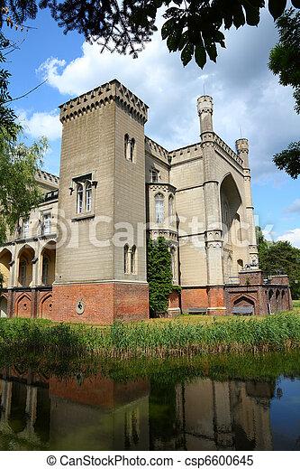 Poland - castle in Kornik - csp6600645