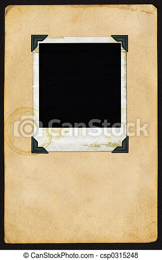 polaroid, ページ - csp0315248