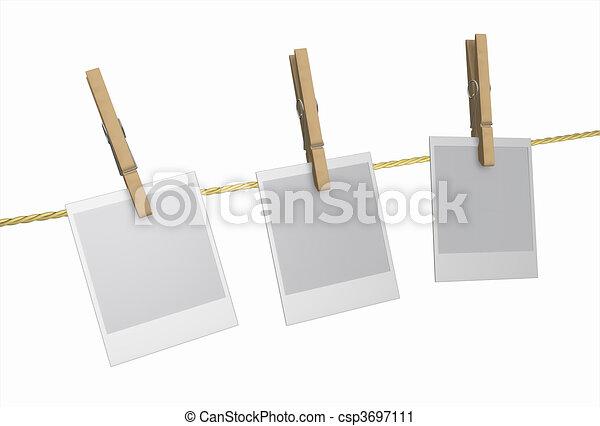 polaroid holz pflock w scheklammer trocken clipart suche illustration zeichnung. Black Bedroom Furniture Sets. Home Design Ideas