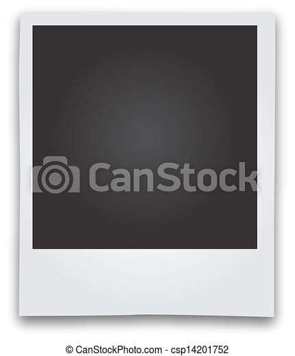 Polaroid Picture Frame Drawing
