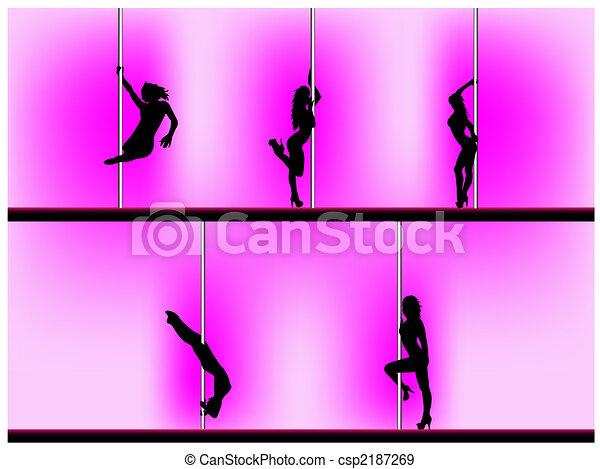 Pole dancer - csp2187269