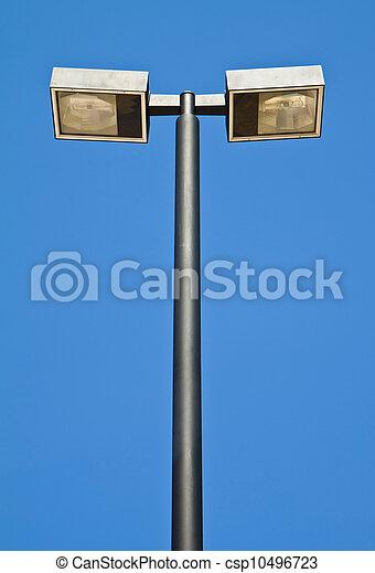 El poste de luz. - csp10496723